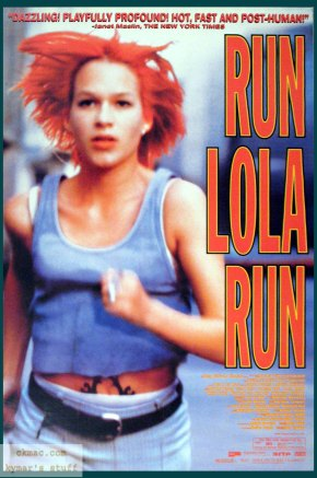 STREAM OF CONSCIOUSNESS- Run Lola Run: On colour co-ordination, guns and dutch boybands