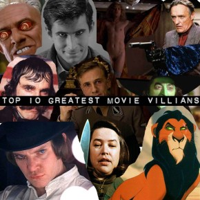 TOP 10: Greatest movie villains