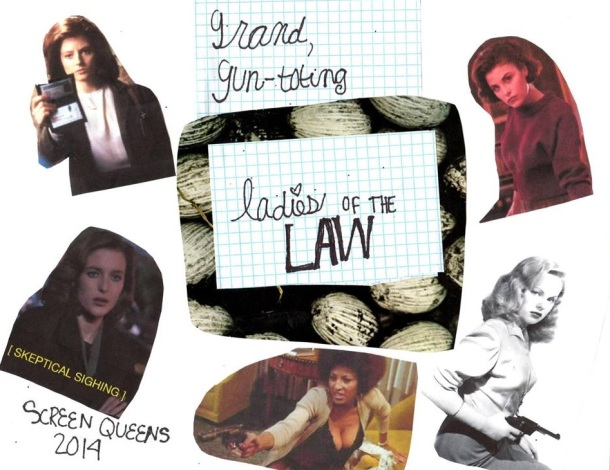 ladies of the law collage
