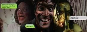 HAIL TO THE QUEEN, BABY: Evil Dead's new horrorheroine