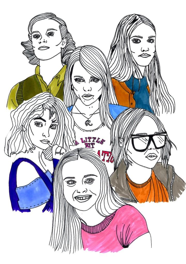 high school heroines