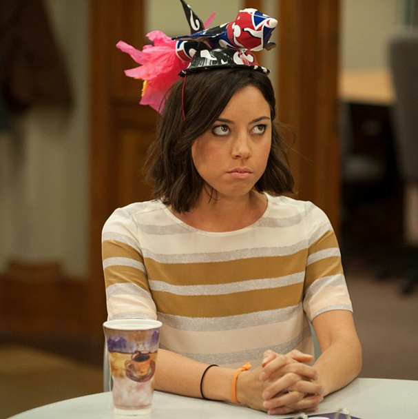 Photograph of April Ludgate