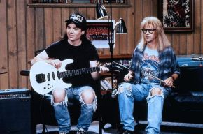 #DirectedByWomen THROWBACK REVIEW- Wayne's World: On nonsensical humour, friendship and impressing girls
