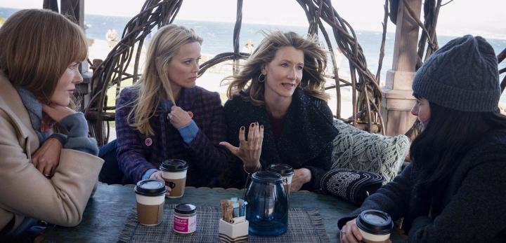 Nicole Kidman, Reese Witherspoon, Laura Dern, Shailene Woodley.
