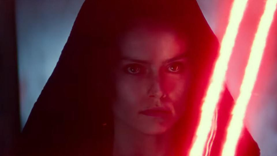 The appearance of 'Dark Rey' (Daisy Ridley) in the sizzle reel for The Rise of Skywalker has generated a huge number of social media posts celebrating the character as an object of sexual desire.